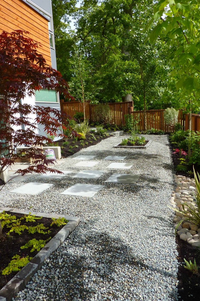 gravel garden design Erin Lau Design